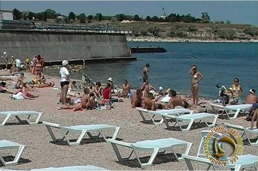 Городской пляж севастополя фото